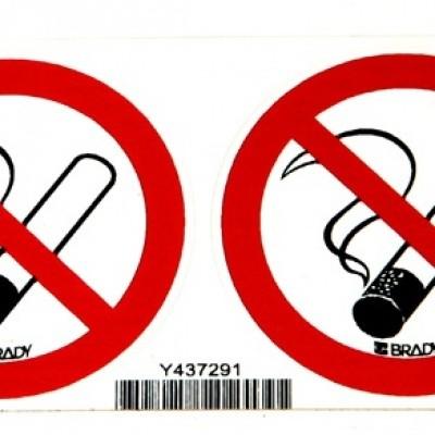 Foto van Verbodssticker Verboden te roken 2 stuks