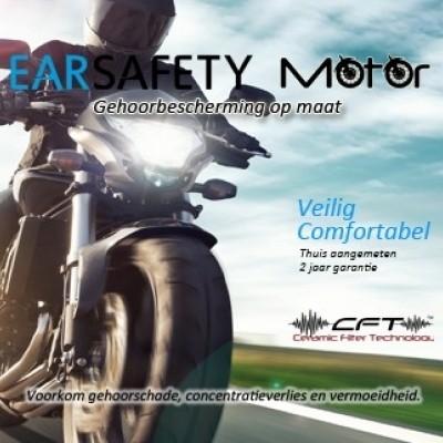 Foto van Earsafety Motoroordoppen op maat