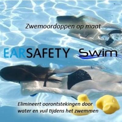 Foto van Earsafety Swim zwemoordoppen op maat