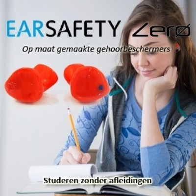 Foto van Earsafety Zero - Studieoordoppen op maat