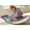 Afbeelding van Kinderfeets Balance Board Krijtbord Grijs (Wobbel)
