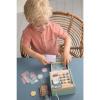 Afbeelding van Little Dutch Houten Kassa Mint Pastelkleur
