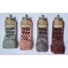 Afbeelding van Apollo Natural Wool Fashion Dames Huissokken Antislip - Lila