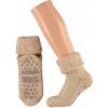 Afbeelding van Apollo Natural Wool Heren/Dames Huissokken Antislip - Beige