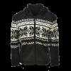 Afbeelding van Pure Wool Heren Vest WJK-1301 Antraciet/Ecru