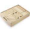 Afbeelding van Viga Toys Jumbo Blokkenset in kist - 48 delig