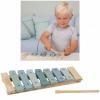 Afbeelding van Little Dutch Houten Xylofoon Blauw/Groen incl. stokje