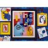 Afbeelding van Many Mornings Picasso Mismatched Unisex Sokken