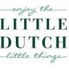 Afbeelding van Little Dutch Houten Regenboog Telraam Blauw