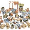 Afbeelding van Dantoy BIOplastic Zand en Voertuigen set - 62 delig