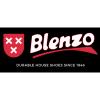 Afbeelding van Blenzo Heren Kruisband Slipper/Muil Blauw/Cognac