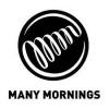 Afbeelding van Many Mornings Dark Espresso Mismatched Unisex Sokken