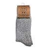 Afbeelding van WoolWarmers Wollen Sokken 2-Pack 405 Grijs