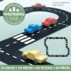 Afbeelding van Waytoplay Snelweg, High Way - Flexibele Wegdelen Set 24 delig
