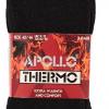 Afbeelding van Apollo Heren Thermo Sokken Zwart (3-PACK)