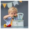 Afbeelding van Little Dutch Houten Weegschaal Blauw/Mint Pastelkleur