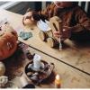Afbeelding van Kinderfeets Bamboo Trekfiguur Zwaan