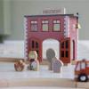 Afbeelding van Little Dutch Houten Railway Brandweerkazerne LD4490