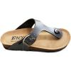 Afbeelding van Biox Foot Comfort Teenslipper Gerona 2430 Zwart