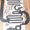 Afbeelding van Waytoplay Autoweg, Express Way - Flexibele Wegdelen Set 16 delig