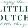 Afbeelding van Little Dutch Houten Pick Up Auto Blauw pastel
