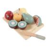 Afbeelding van Little Dutch Houten Fruit Snijset - 8 delig