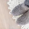 Afbeelding van WoolWarmers Wollen Slof Dolly 9174 Zwart