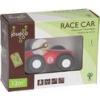 Afbeelding van Jouéco Houten Raceauto 9 cm Rood 80048 in geschenkdoos