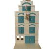 Afbeelding van Pakhuis Vintage Blue - Van Dijk Toys ***SHOWMODEL***