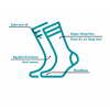 Afbeelding van Sock My Feet Leaves Sokken