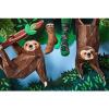 Afbeelding van Many Mornings Sloth Life Mismatched Unisex Sokken