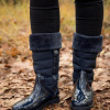 Afbeelding van XQ Dameslaars Fashion Gevoerd Blauw