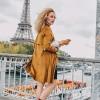 Afbeelding van Many Mornings Bonjour France Mismatched Unisex Sokken