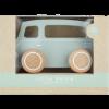 Afbeelding van Little Dutch Houten Busje Mint Pastelkleur
