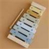 Afbeelding van Little Dutch Houten Xylofoon Blauw/Geel incl. stokje LD7017
