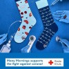Afbeelding van Many Mornings Dr. Sock Mismathed Unisex sokken (donatie Rode Kruis)