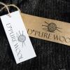 Afbeelding van Pure Wool Heren Vest Gevoerd WJK-1301 Antraciet/Ecru