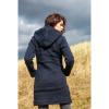 Afbeelding van Pure Wool Handgebreide Gevoerde Jas WJK-1709 Marine