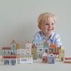 Afbeelding van Little Dutch Houten Blokkenstad - 50 delig