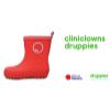 Afbeelding van Druppies Clini Clown Laarsje Kids 11024 Vuurrood