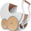 Afbeelding van Kinderfeets Retro Poppenwagen Wit