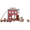 Afbeelding van Little Dutch Houten Railway Brandweerkazerne