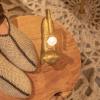 Afbeelding van Pure Wool Fair Trade Gebreide Homesok Sherpa Gevoerd Ecru ONE SIZE