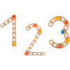 Afbeelding van Baufix 1,2,3 Hoge Kwaliteit Houten Constructiespeelgoed - 27 delig (10150)