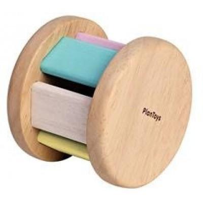 PlanToys Houten Roller Pastelkleur