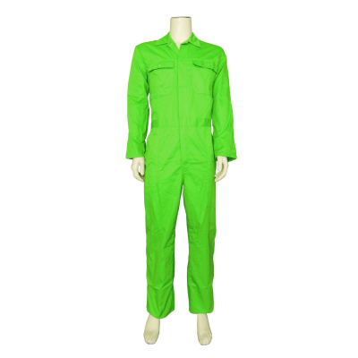 Foto van Top Rock Kinderoverall KOV6535-003 rally poly/kat Lime