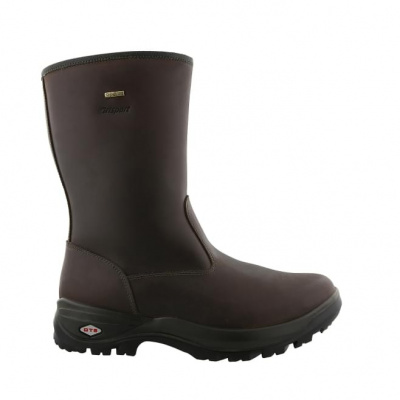 Foto van Grisport Country Leren Outdoor Heren Winterlaars Donkerbruin