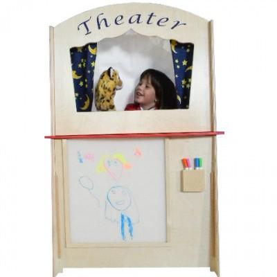 Poppenkast Theater met Paintmarker Bord (excl. stiften)