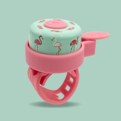 Foto van Micro Bel Flamingo, roze voor step of fiets