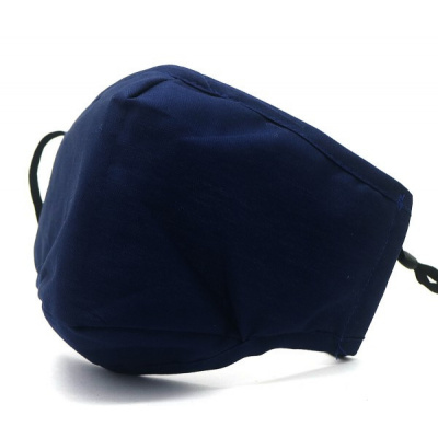 Foto van Stoffen Fashion Mondmasker Blauw